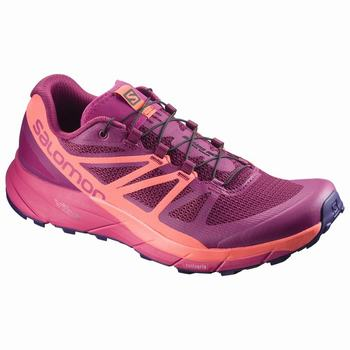 Salomon SENSE RIDE W Scarpe Trail Running (714BILSU)
