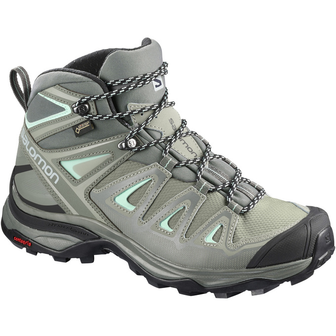 Offerte Scarpe Trekking Donna - Salomon X ULTRA 3 WIDE MID GTX® W Italia b7b64614b18