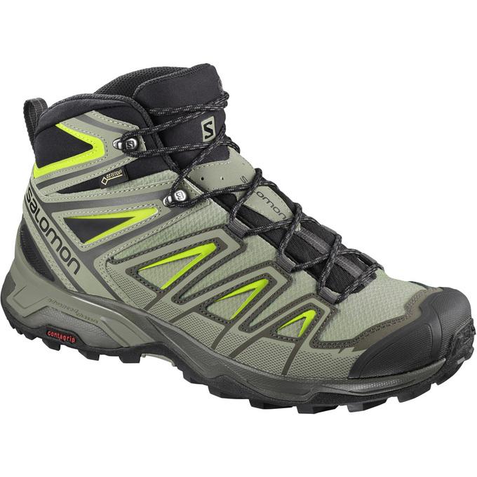 Scarpe Trekking Uomo Impermeabili - Salomon X ULTRA 3 MID GTX® Italia 8cd9c8640ca